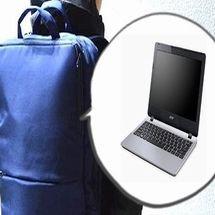 ノートパソコンをリュックで持ち運ぶ時に危険な為に注意すべき点